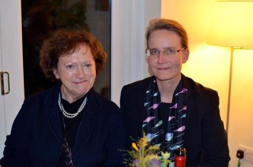 Bianca Kühnel and Hanna Vorholt